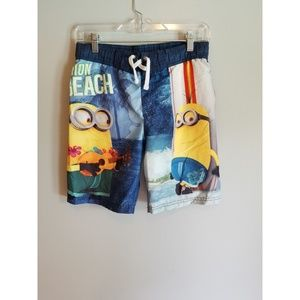 Boys Despicable Me (Minion) Swim Trunks